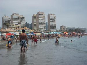 playamar strand Torremolinos