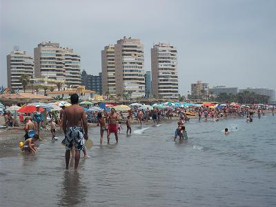 strand torremolinos centrum