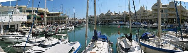 jachthaven Puerto Marina in Benalmadena Spanje