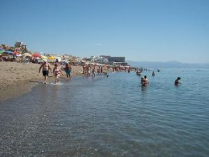 strand Carihuela Torremolinos