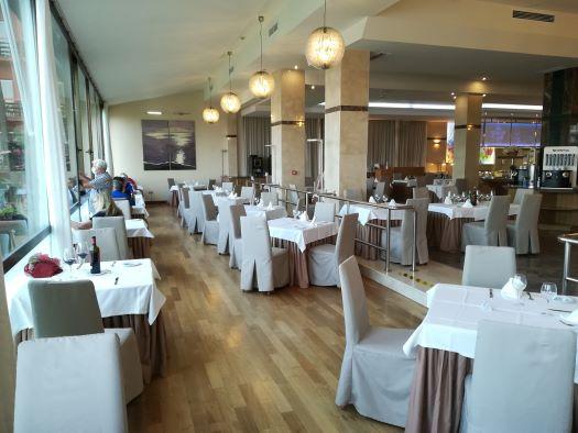 het restaurant van Hotel Amaragua in Carihuela