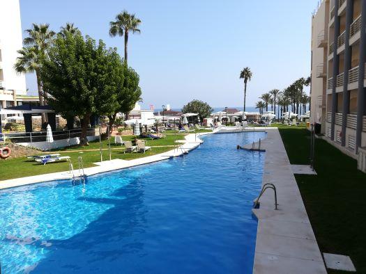 het zwembad van Hotel Pez Espada